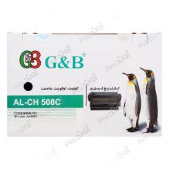 کارتریج اچ پی رنگ مشکی جی اند بی HP 508A Black Cartridge G&B