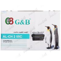 کارتریجرنگ مشکی اچ پی جی اند بی HP 55ABlack Laserjet Toner Cartridge G&B