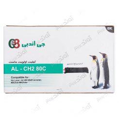 کارتریجرنگ مشکی اچ پی جی اند بی HP 80ABlack Laserjet Toner Cartridge G&B