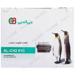 کارتریجرنگ مشکی اچ پی جی اند بی HP 81ABlack Laserjet Toner Cartridge G&B
