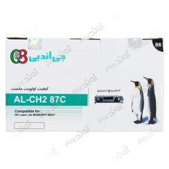 کارتریجرنگ مشکی اچ پی جی اند بی HP 87ABlack Laserjet Toner Cartridge G&B