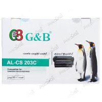 کارتریجرنگ مشکی کانن جی اند بی Samsung 203 Black Laserjet Toner Cartridge G&B