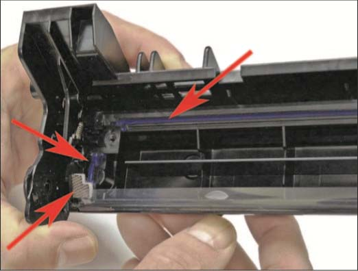 آموزش شارژ کارتریج HP 87A