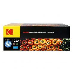 کارتریج تونر کداک رنگ آّبی اچ پی Kodak126A Cyan Toner Cartridge