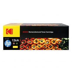 کارتریج تونر کداک رنگ زرد اچ پی Kodak126A Yellow Toner Cartridge