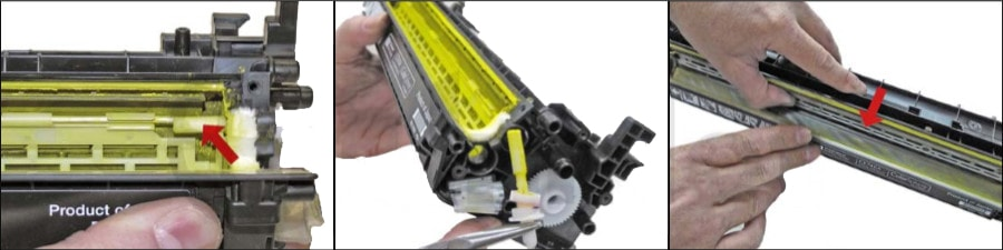 آموزش شارژ کارتریج تونر HP CP5225 - 307A