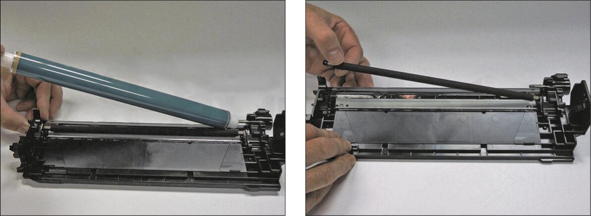 آموزش شارژ کارتریج رنگی HP 508A