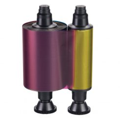 ریبون رنگی 200 عکس اوولیس Evolis R3011 YMCKO Ribbon500 Images