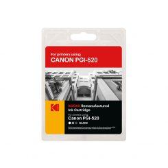کارتریج کداک جوهرافشان کانن رنگ مشکی Kodak Canon PGI-520 Black Ink Cartridge