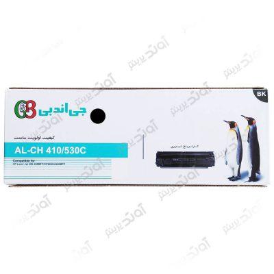 کارتریج تونر اچ پی رنگی مشکی جی اند بی HP 304A-305A Black G&B