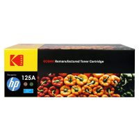 کارتریج تونر کداک رنگ آبی اچ پی Kodak125A Cyan Toner Cartridge