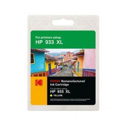 کارتریج کداک جوهرافشان اچ پی رنگ زرد Kodak HP 933XL Yellow Ink Cartridge
