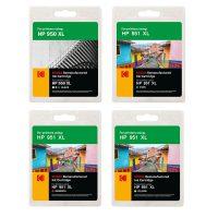 ست کارتریج کداک جوهرافشان اچ پی چهار رنگ Kodak HP950XL-951XL CMYK Ink Cartridge