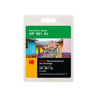 کارتریج کداک جوهرافشان اچ پی رنگ آبی Kodak HP 951XL Cyan Ink Cartridge