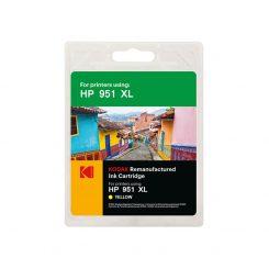 کارتریج کداک جوهرافشان اچ پی رنگ زرد Kodak HP 951XL Yellow Ink Cartridge