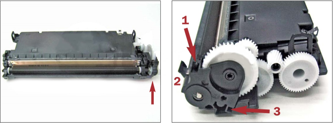 آموزش شارژ کارتریج تونر HP 3600- HP 501A-502A