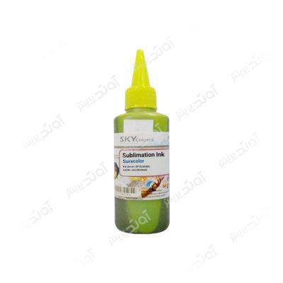 جوهر پرینتر سابلیمیشن اپسون Skycolors Sublimation ink 100ml