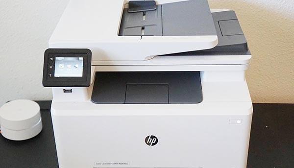 پرینتر چندکاره لیزری رنگی اچ پی HP Color LaserJet Pro MFP M281fdn Printer