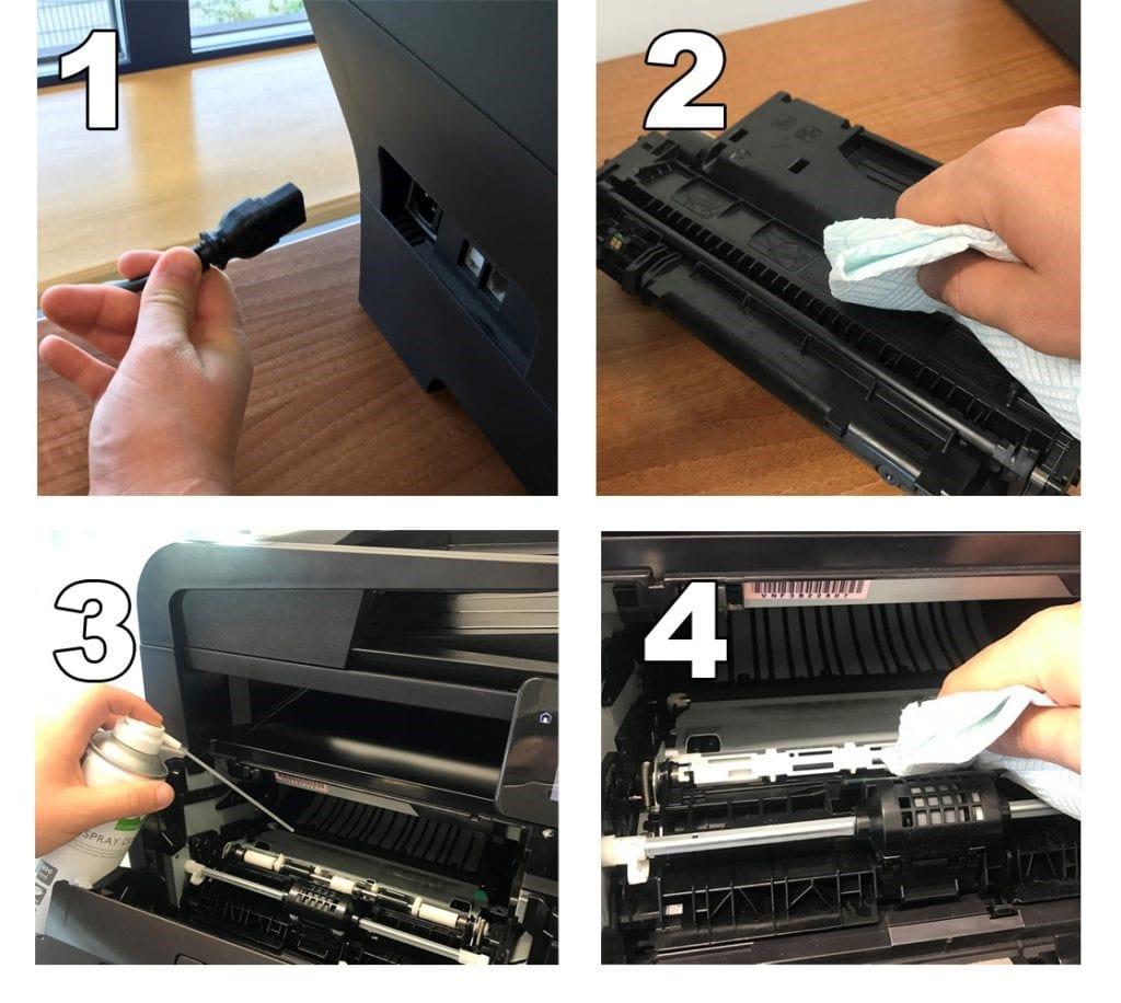 نحوه تمیز کردن پرینتر لیزری در 5 مرحله ساده