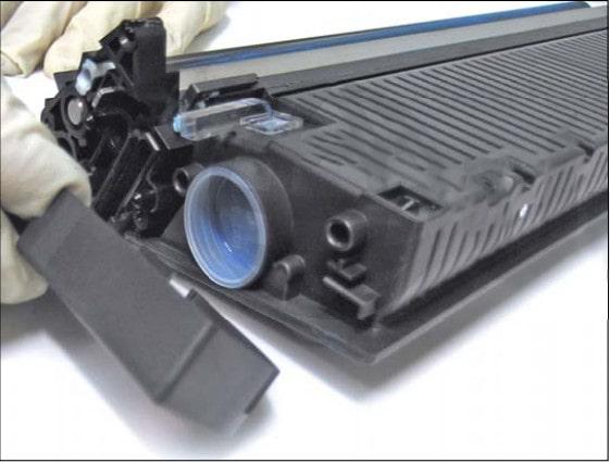 آموزش شارژ کارتریج تونر رنگی HP 5500