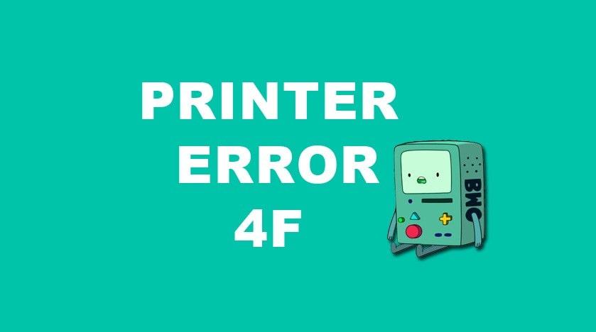 نحوه رفع خطای 4F مربوط به پرینتر برادر (امکان چاپ وجود ندارد)