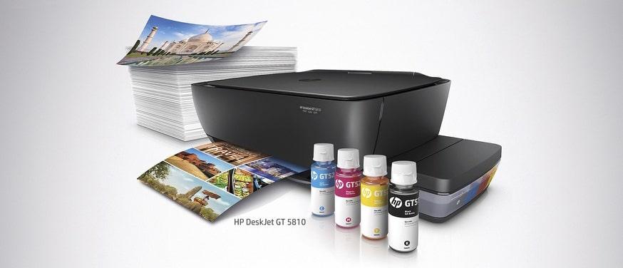 پرینتر چندکاره جوهر افشان اچ پی HP DeskJet GT 5810