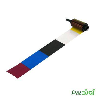 ریبون رنگی 250 عکس نیسکا Nisca 3BP YMCKO Ribbon اورجینال