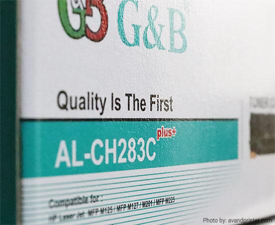 کارتریج تونر اچ پی جی اند بی HP 83A G&B Plus