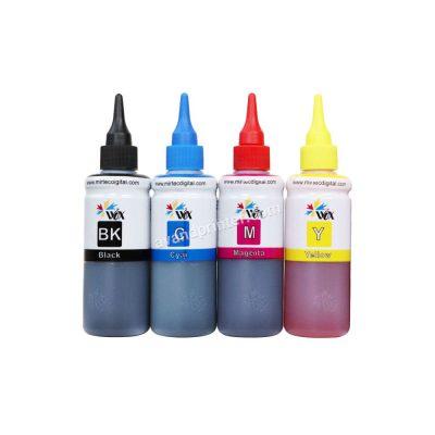 جوهر پرینتر اپسون 100 میلی لیتری 4 رنگ WOX - 100ml Epson 4 Color Cartridge Ink