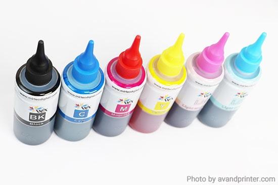 جوهر پرینتر اپسون WOX - 100ml Epson 6 Color Cartridge Ink