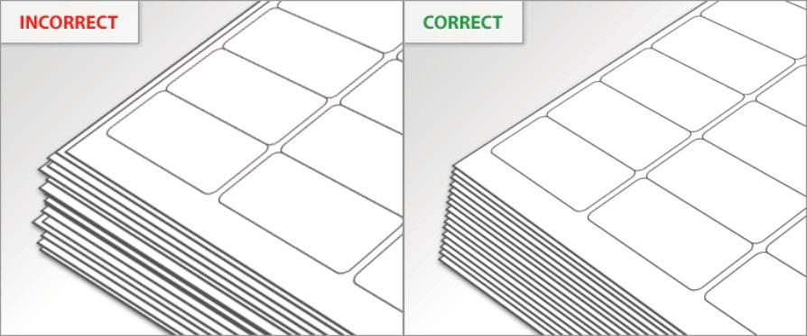 راهنمای تنظیم چاپ تراز شده (Alignment) لیبل در یک پرینتر