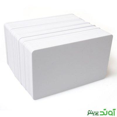 کارت پی وی سی ساده 100 عددی 760 میکرون