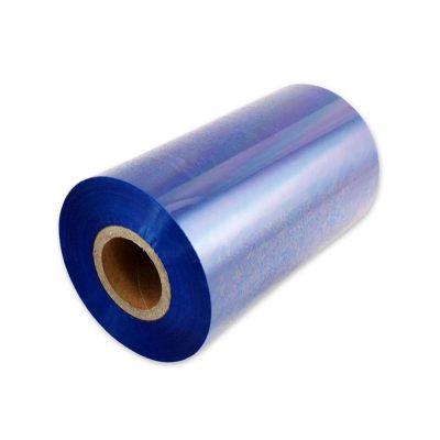 ریبون وکس/رزین رنگ آبی Blue Wax/Resin Ribbon 110x30