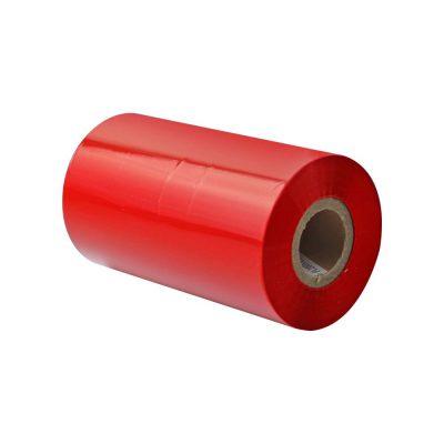 ریبون وکس/رزین رنگ قرمز Red Wax/Resin Ribbon 110x30