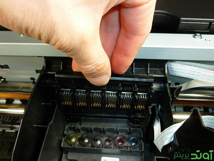 نحوه تعویض هد پرینتر Epson Stylus Photo 1410