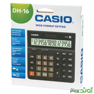 ماشین حساب کاسیو Casio DH-16