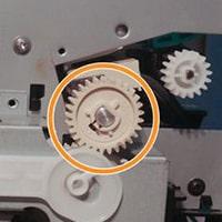 تعویض سلونوید کاغذکش و چرخ دنده اصلی پرینتر HP LaserJet 1160 یا 1320
