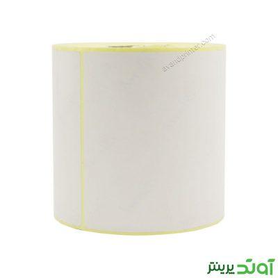 لیبل (برچسب) کاغذی تک ردیفه Paper Label 100x200 One Row