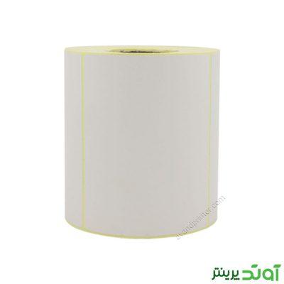 لیبل (برچسب) کاغذی Paper Label 80x100