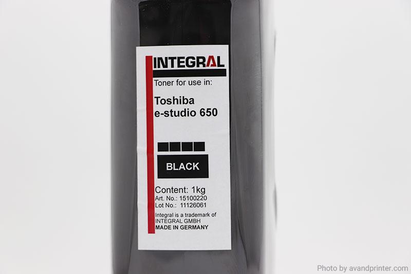 تونر شارژ توشیبا اینتگرال Toshiba e-studio 550