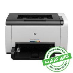 پرینتر لیزری رنگی HP Color LaserJet CP1025 کارکرده