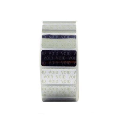لیبل (برچسب) وید تک ردیفه Void Label 15x34