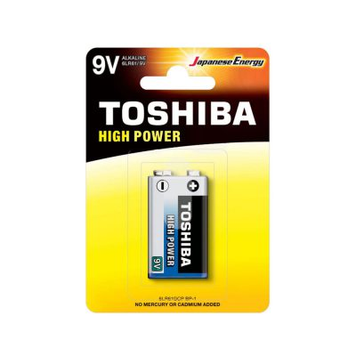 باتری کتابی توشیبا Toshiba High Power 9V