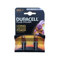 باتری نیم قلمی Duracell Plus Power 1.5V