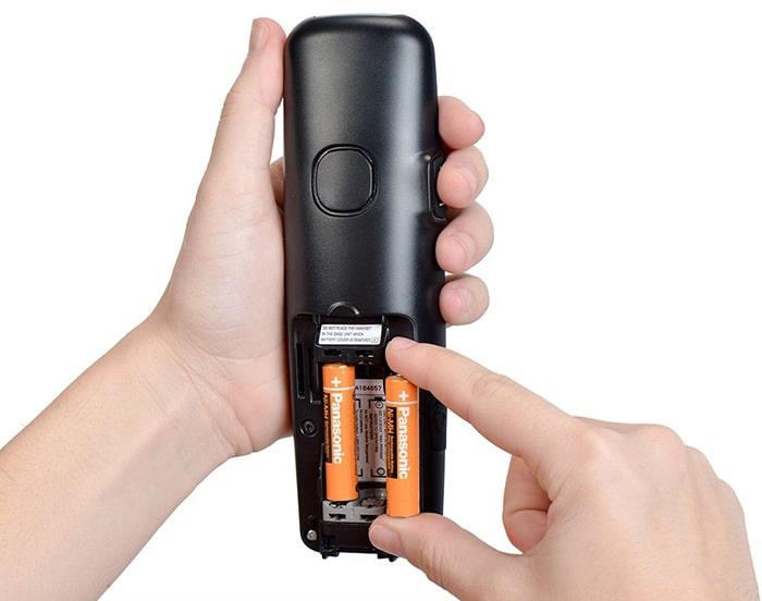 باتری نیم قلمی تلفن Panasonic HHR-3MRT/2BM 1.2V
