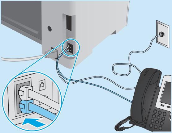 تنظیمات فکس در پرینترهای سری HP M130