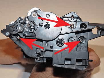آموزش شارژ کارتریج HP 37A