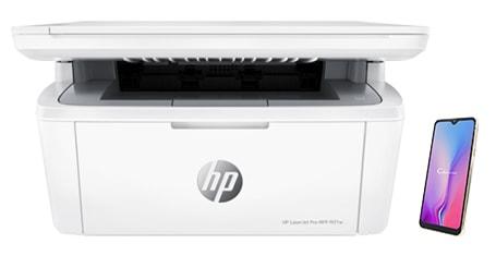 نحوه پرینت با موبایل توسط پرینتر HP LaserJet Pro MFP M28