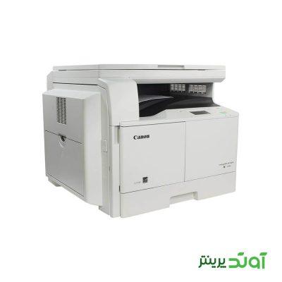 دستگاه کپی کانن مدل imageRUNNER 2204 یک ابزار سه کاره است که دارای قابلیت های کپی، اسکن و چاپ می باشد