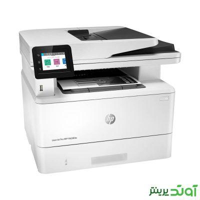 سرعت چاپ این دستگاه تا 38 برگه A4 در دقیقه است